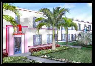 Graphic Image of The Ruby Luxury Apartments Building